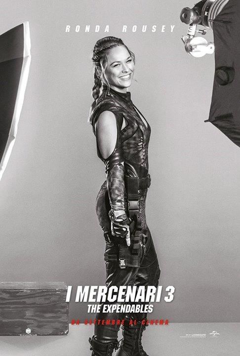 Ronda Rousey I Mercenari 3