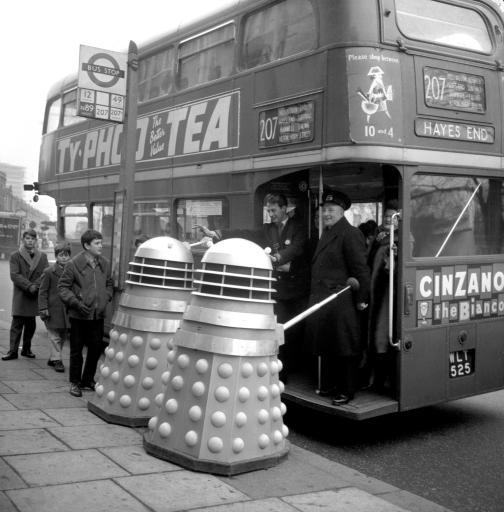 Cinzano Doctor Who
