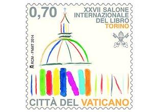 francobollo Salone Internazionale del Libro