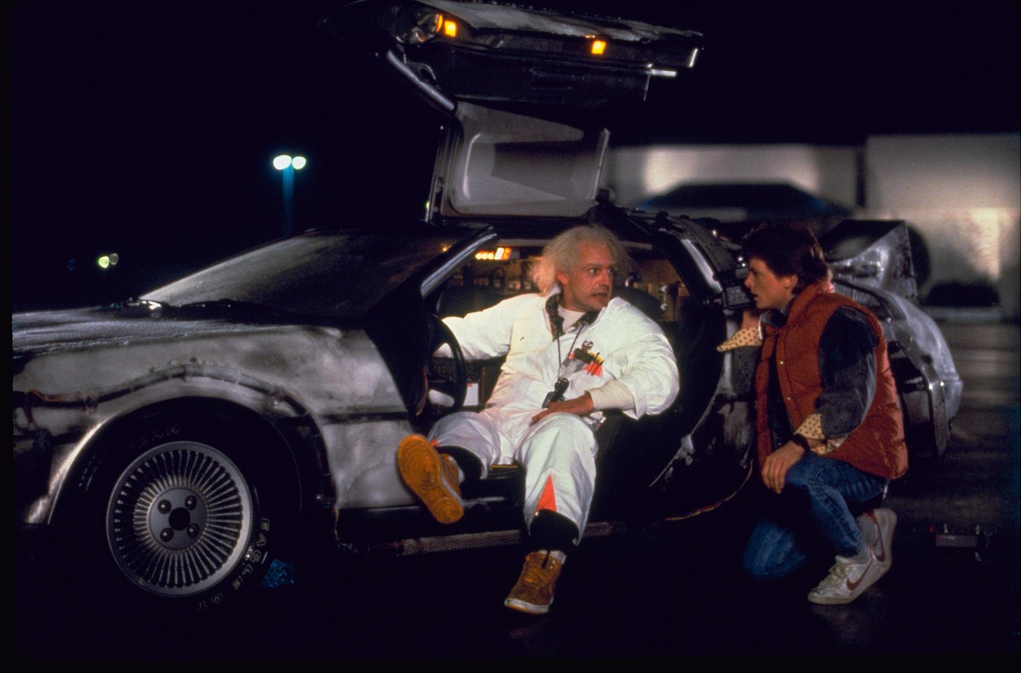 l'auto di Ritorno al futuro