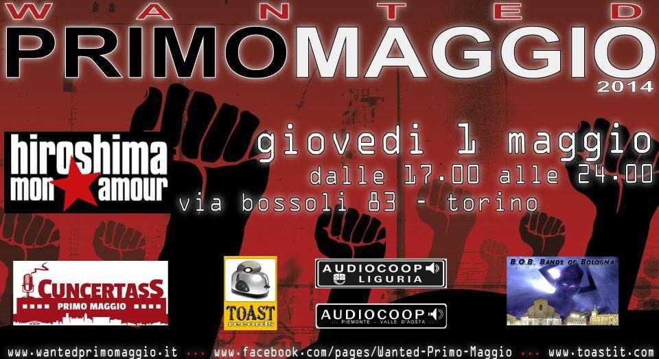 Wanted Primo Maggio