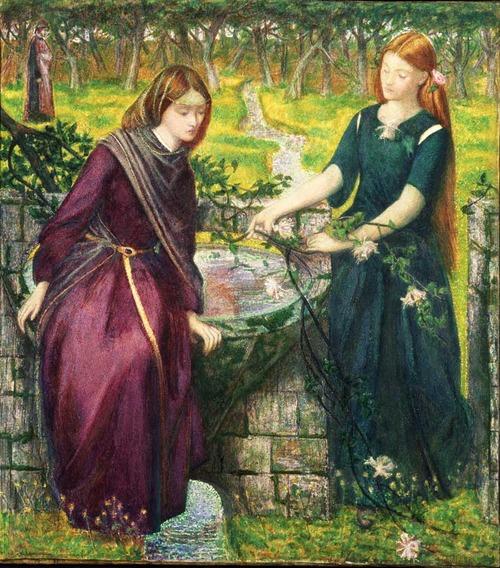 Rossetti - Visione di Dante