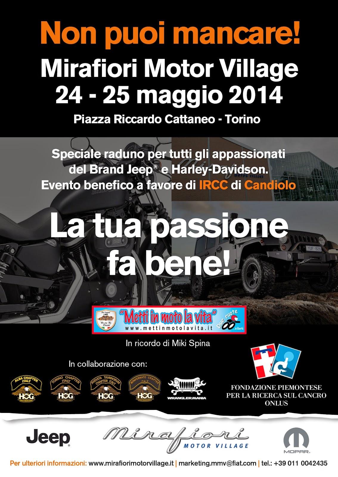 Jeep e Harley Davidson a Torino