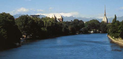 fiume Po Torino Valentino Mole