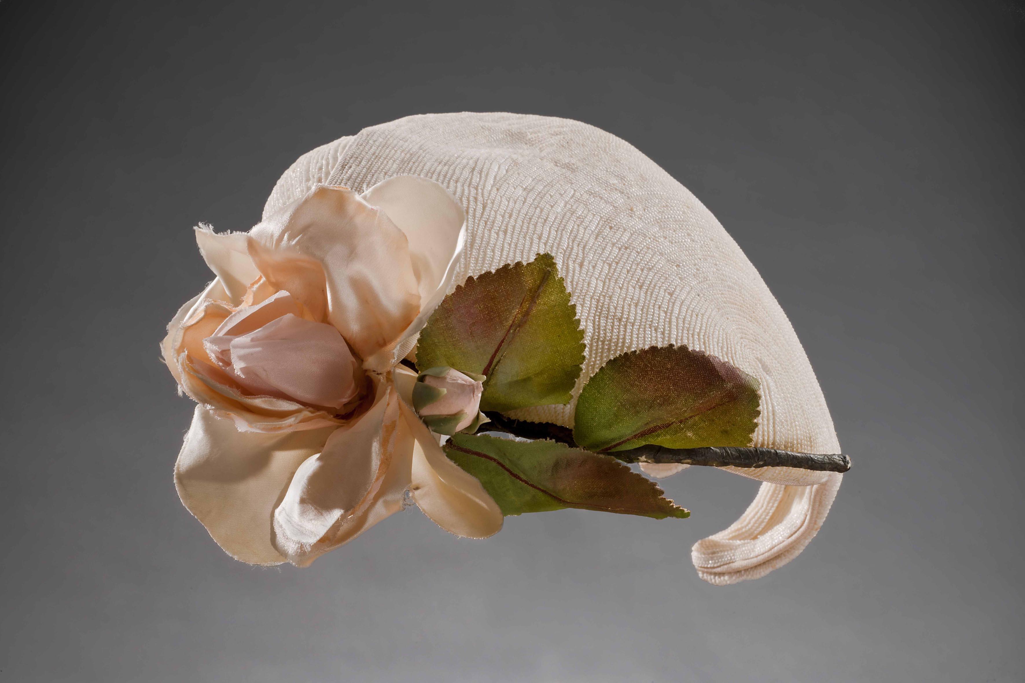 cappello paglia fiore.