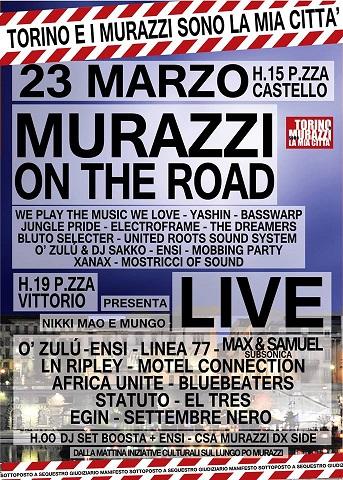 concerto murazzi on the road