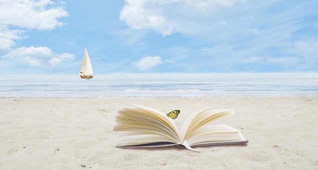 libro spiaggia