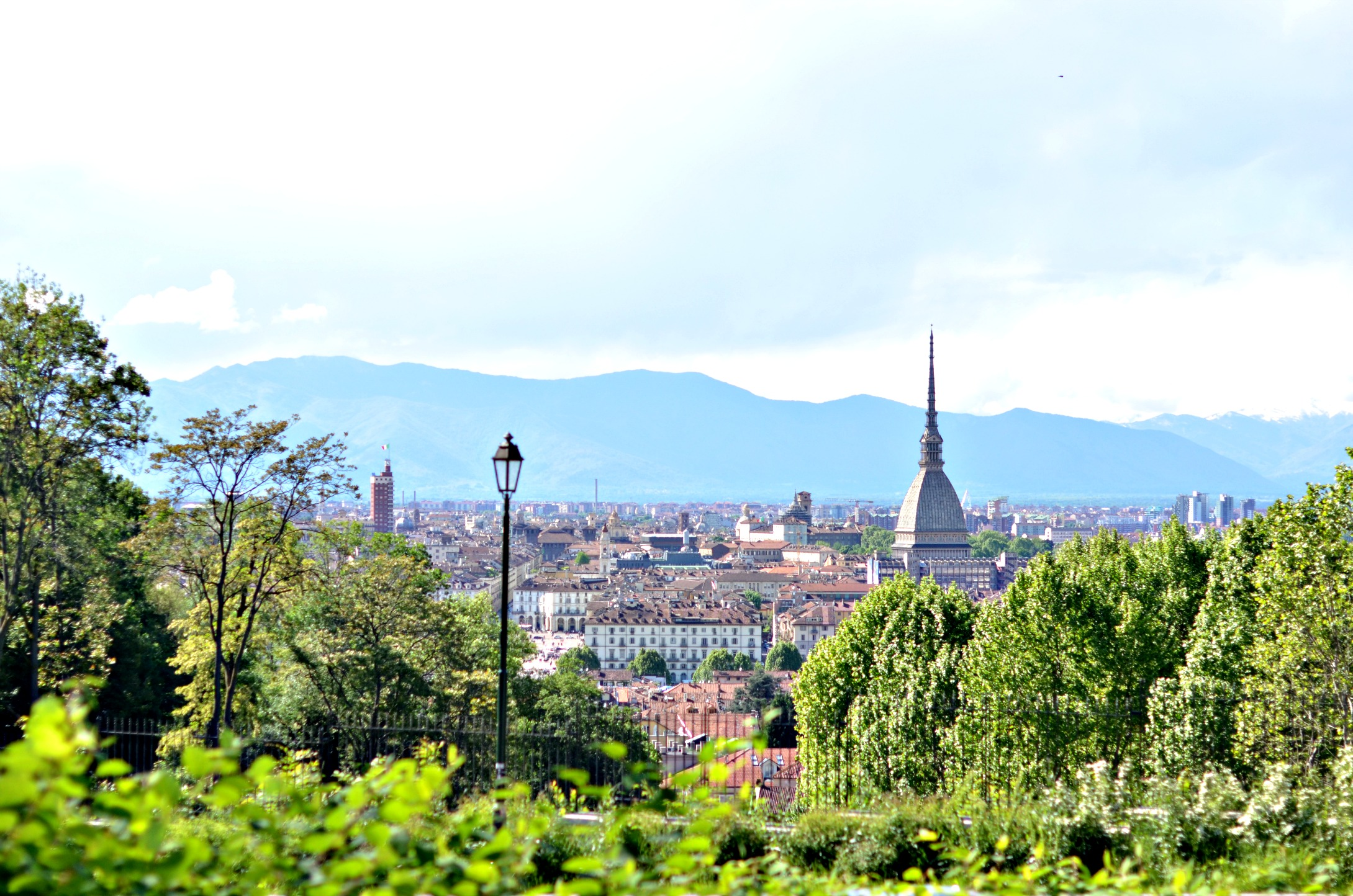 Torino vista dalla collina