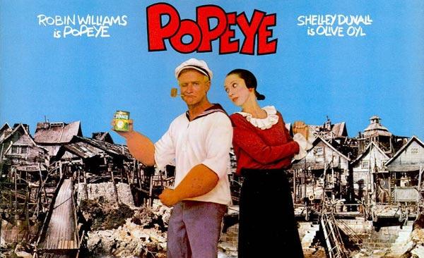 Robin Williams - Popeye- film