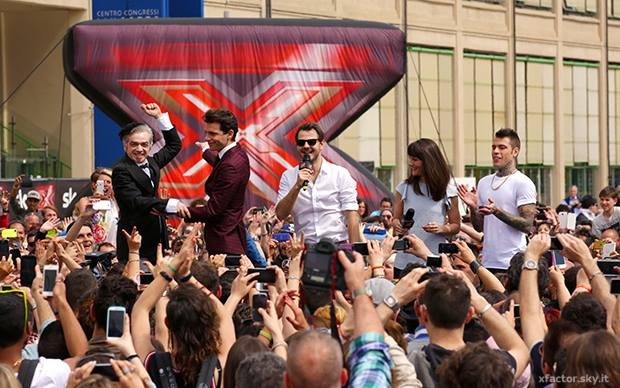 X factor Torino