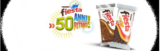 Ferrero: 50 anni di dolcezza con Fiesta e Nutella