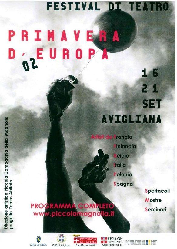 Primavera d'Europa festival di teatro