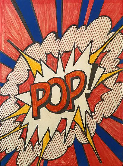 Opera prima la pop art di roy lichtenstein alla gam - Pop art roy lichtenstein obras ...