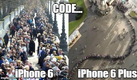 code i phone 6