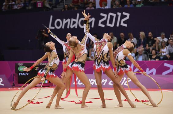 Le Farfalle alle Olimpiadi Londra 2012
