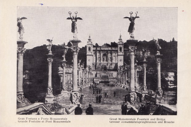 Turin_1911_-_Gran_fontana_e_ponte_monumentale