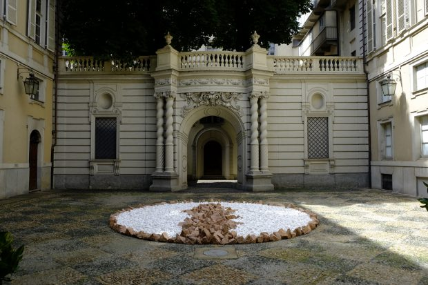 Palazzo Asinari di San Marzano_Richard Long_BLU SKY CIRCLE
