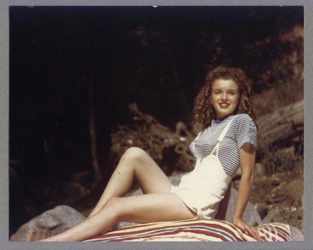Norma Jeane Dougherty 1945 David Conover Yank magazine
