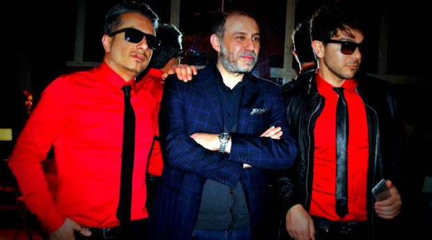 Generoso Urciuoli con la band iPesci