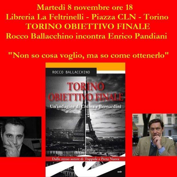 Torino Obiettivo Finale: il nuovo romanzo di Rocco Ballacchino