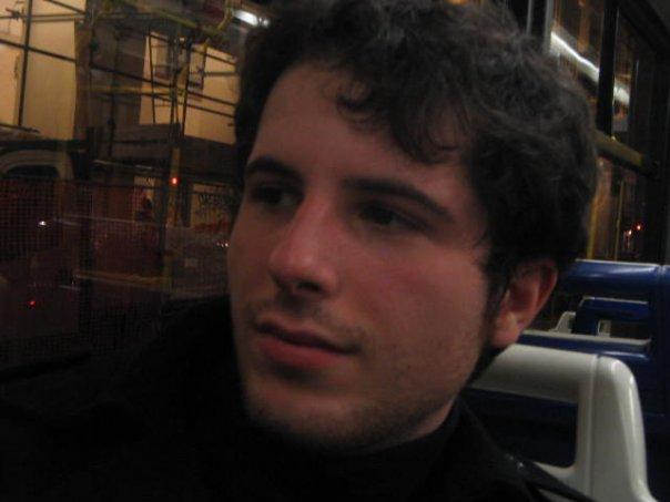 Luca Atzori da giovane
