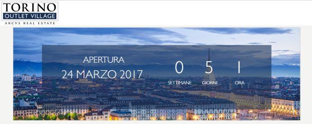 attesa inaugurazione Outlet Village Torino