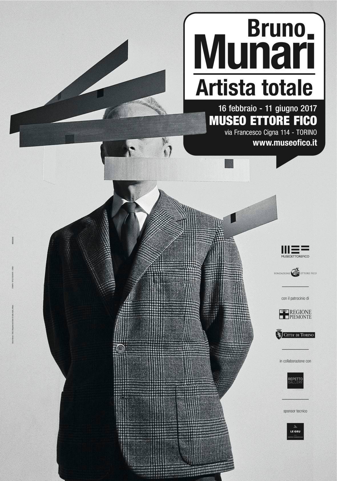 Bruno Munari artista totale locandina