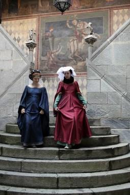 Dame Borgo medievale Torino