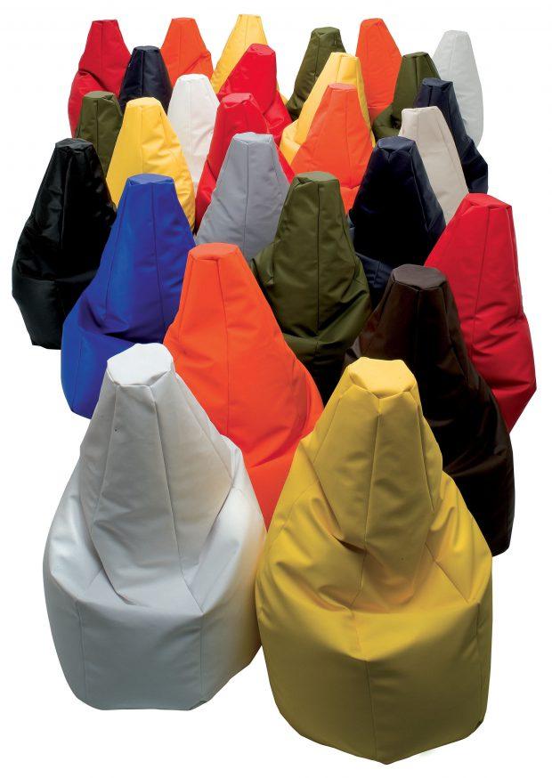 poltrona sacco vari colori