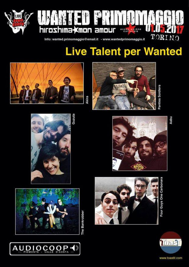 talent Wanted primo maggio