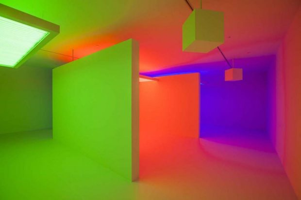 Carlos Cruz Diez - Chromosaturation