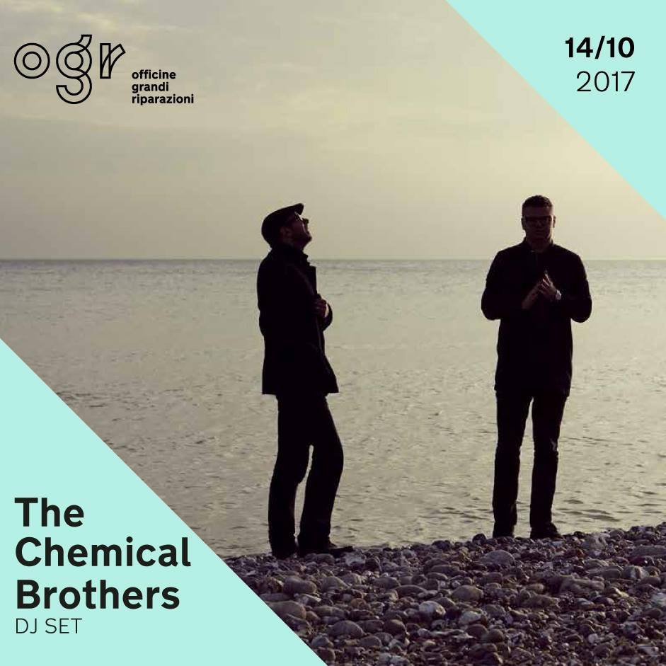 Serata Chemical Brothers alle OGR Torino