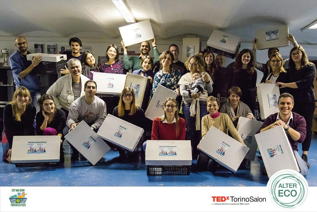 Cit Ma Bun con i volontari di TEDxTorino