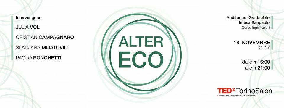 Alter Eco di TEDxTorino - Economia Circolare