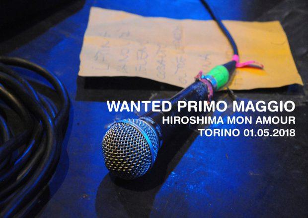 Wanted Primo Maggio 2018