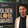 Mattia Ferrante ai Golden Globe