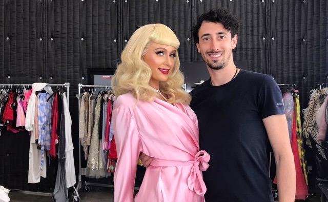 Mattia Ferrante con Paris Hilton