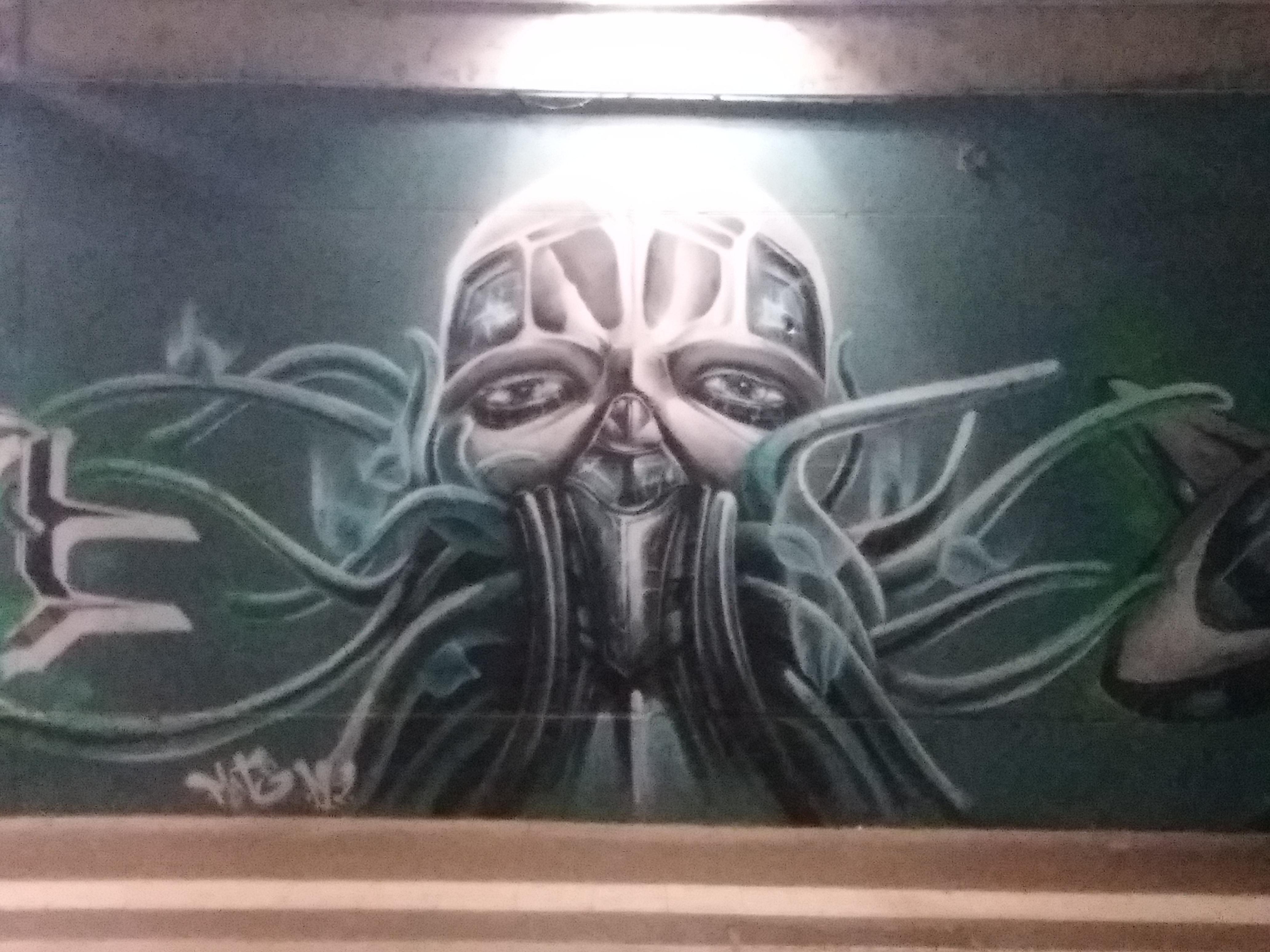 murales alieno a Torino Stura