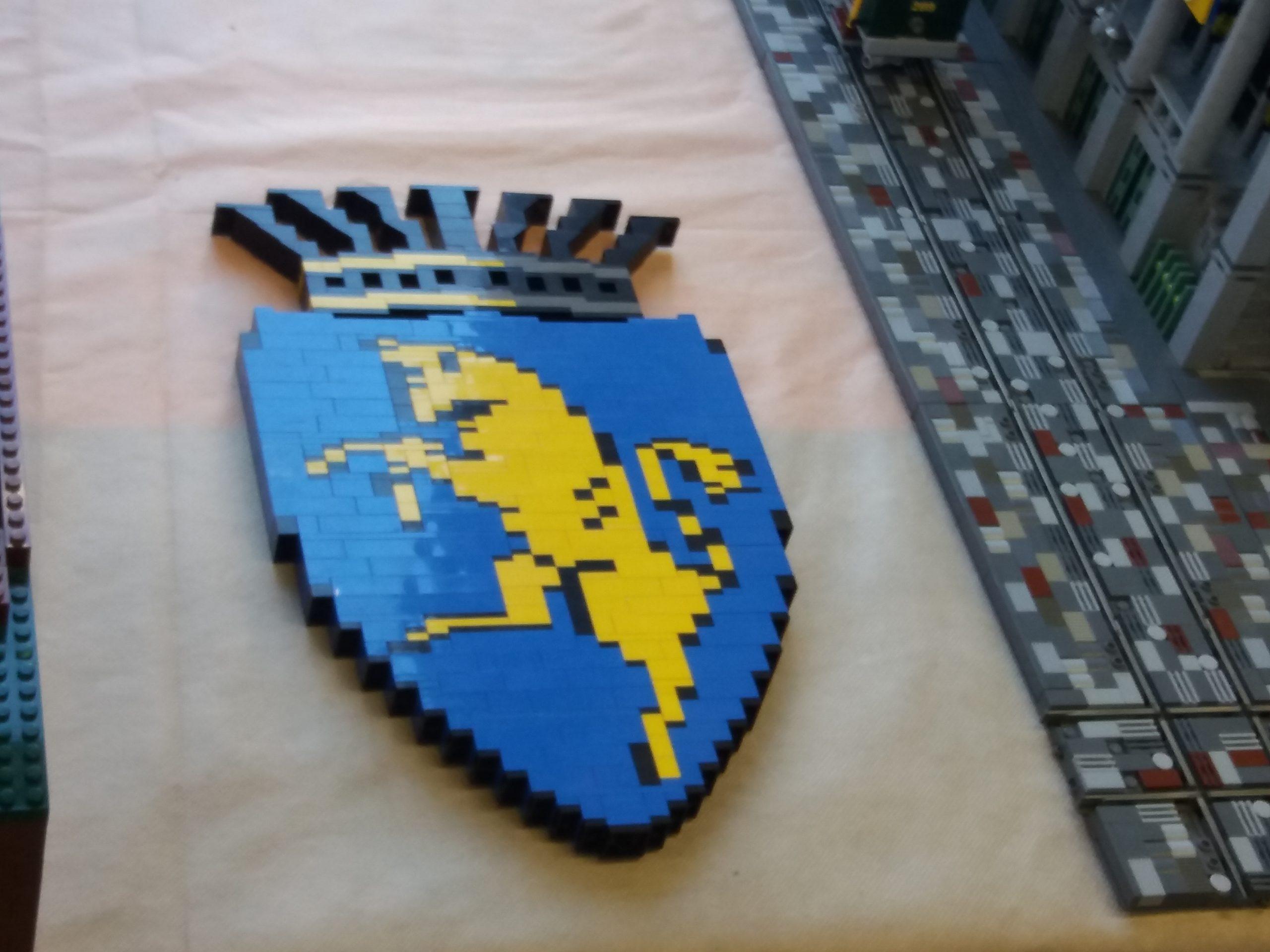 logo di Torino costruito con i Lego